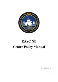 RASC NB Policy Manual Rev 1.3